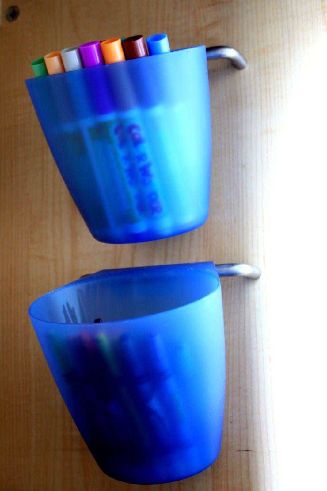 Ikea Buckets And Handles For Art Supply Storage Art