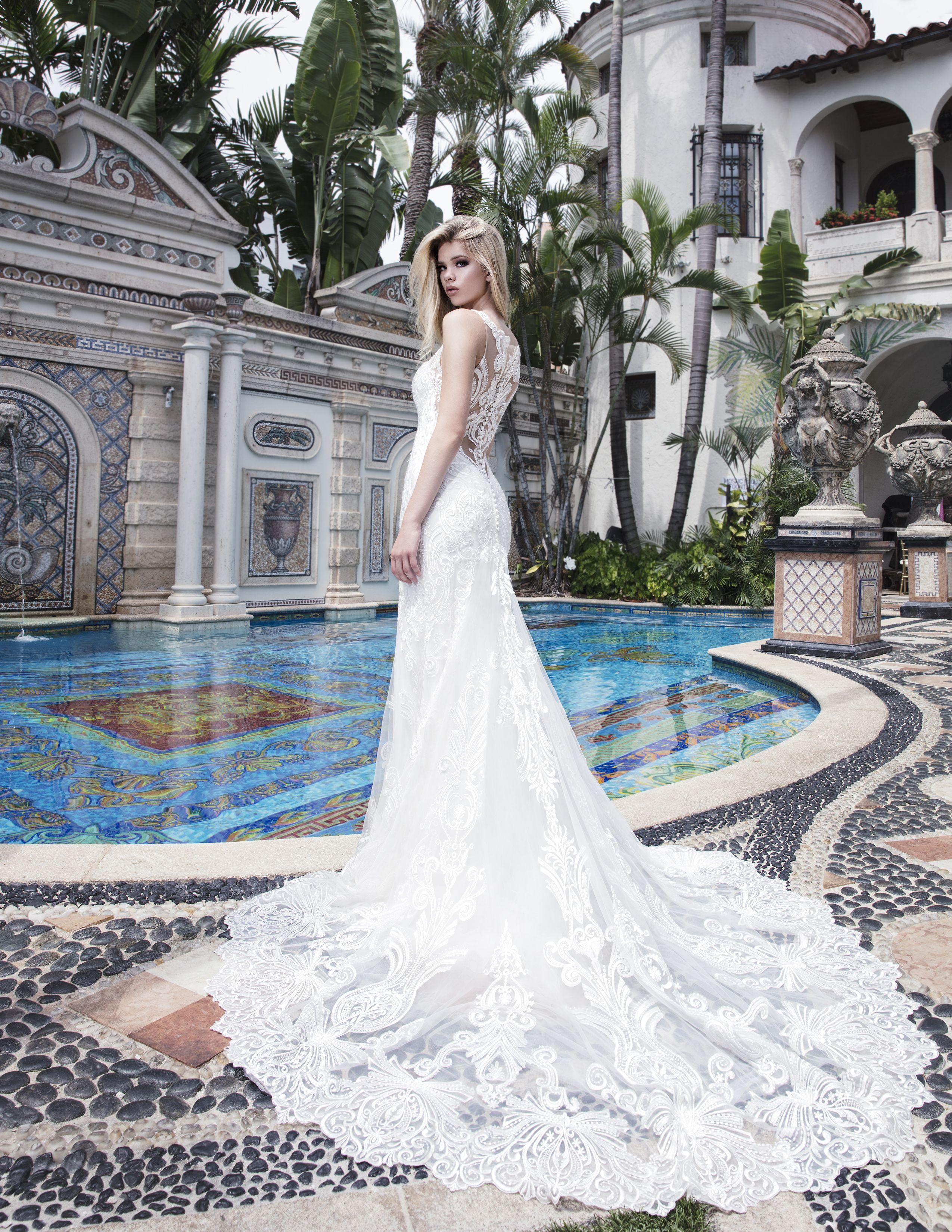 Eddy K At The Villa Casa Casuarina Former Versace Mansion Versace Mansion Gorgeous Wedding Dress Wedding Dresses