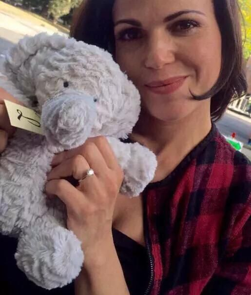 Lana+stuffed animal=