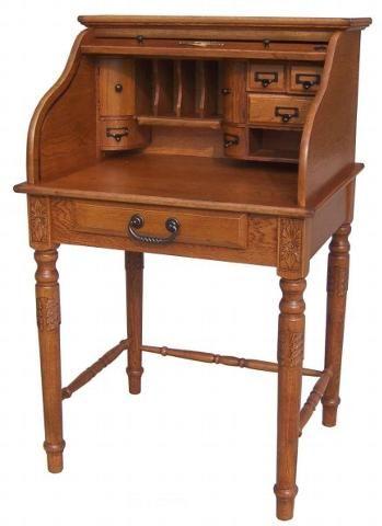 Country Marketplace 28 Quot Oak Mini Rolltop Desk Antique