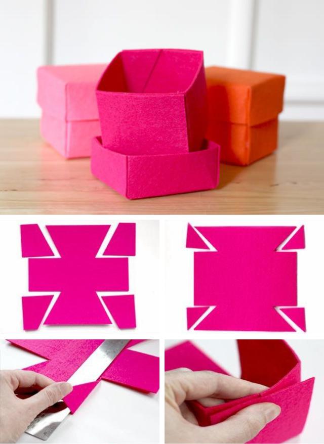 c7aecd15b 9 projetos para a casa usando feltro | Feltro | Projetos de costura ...