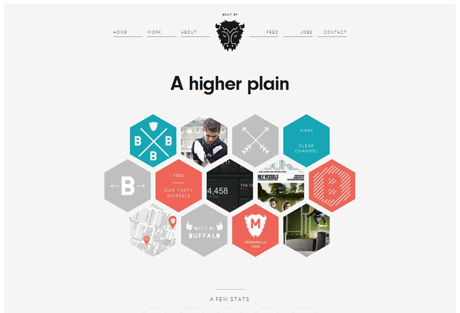 50 Awesome Websites with Extraordinary Geometry Elements | Website ...