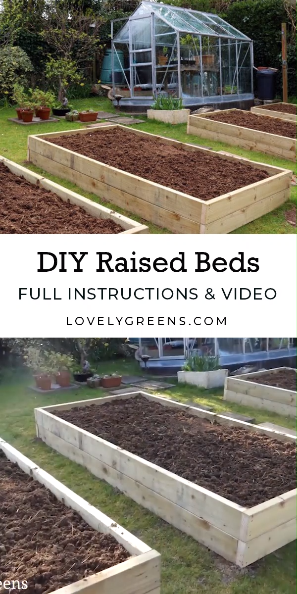 Building Raised Garden Beds: sizes, the best wood, and tips on filling them #howtogrowvegetables