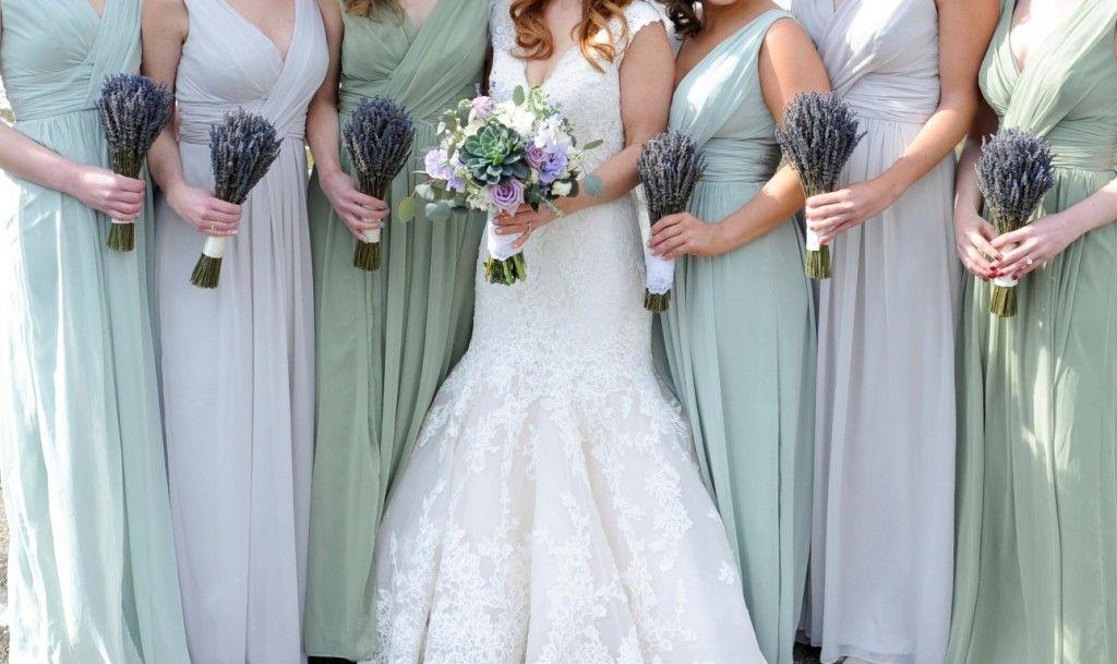 Lavender And Green Bridesmaid Dresses Stef Joe S Classy