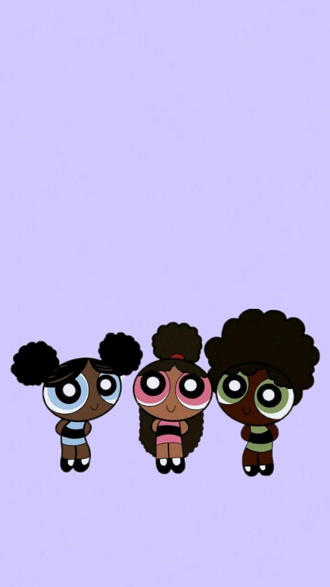 Black Powerpuffgirls Wallpaper Lavender Background In 2020 Powerpuff Girls Wallpaper Cartoon Wallpaper Iphone Cartoon Wallpaper