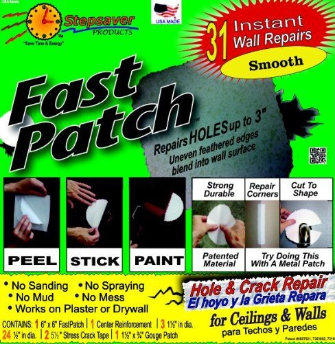Stepsaver Self Adhesive Fast Patch Pre Textured Patches Adhesive Repair