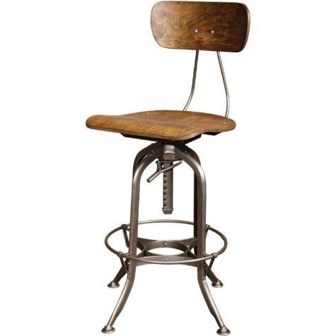 Get Back Inc U2013 Vintage Industrial,Toledo Bar Stool, Original And Made In USA