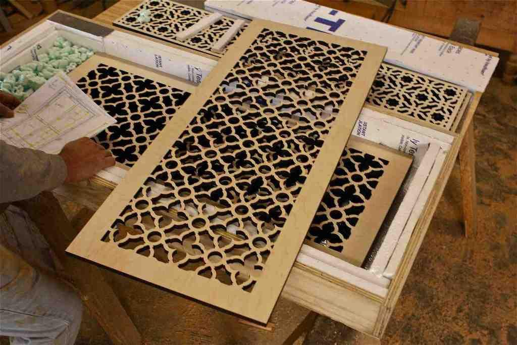 Decorative Cut Out Wood Paneecorative Panels
