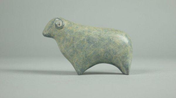 Célèbre Bronze Animal Form: Abstract sculpture by artist Stephen Page  VG65