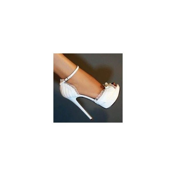 Wearing heels on your wedding day Yes or No ❤ liked on Polyvore featuring shoes, pumps, sexy shoes and sexy pumps