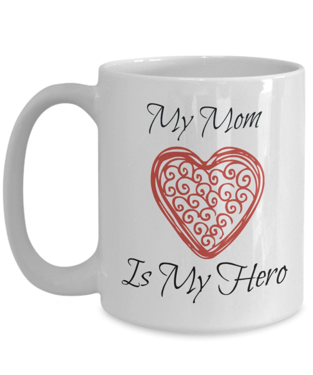 my mom my hero My mother, my hero in 1859 henry ward beecher said, the mother's heart is the child's schoolroom i believe that statement because of experiences i've had with my own mother.