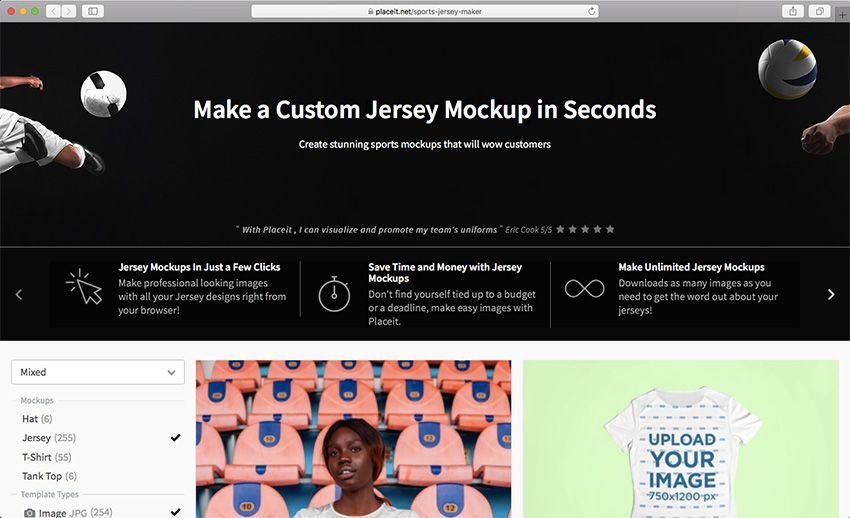 Download 29 Best Sports Jersey Mockups With an Online Mockup ...