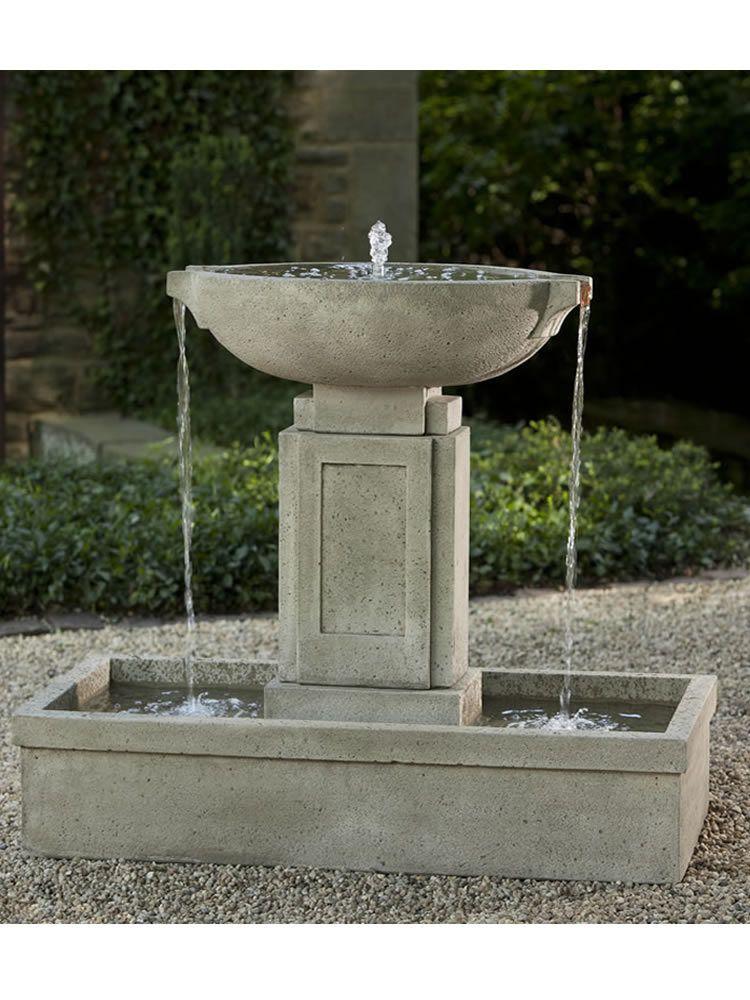Austin Fountain. Fountain GardenGarden FountainsOutdoor DecorPondsPatiosCome  ...
