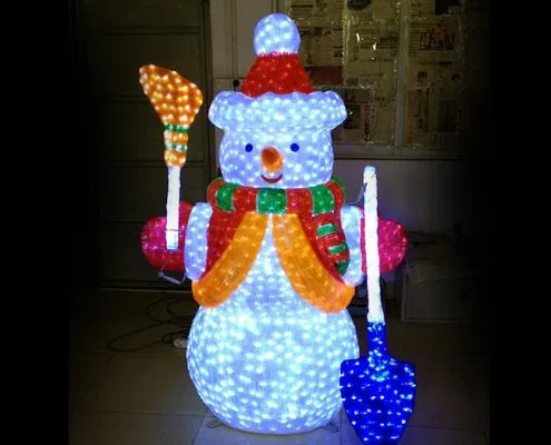 Pin On Led Snowman