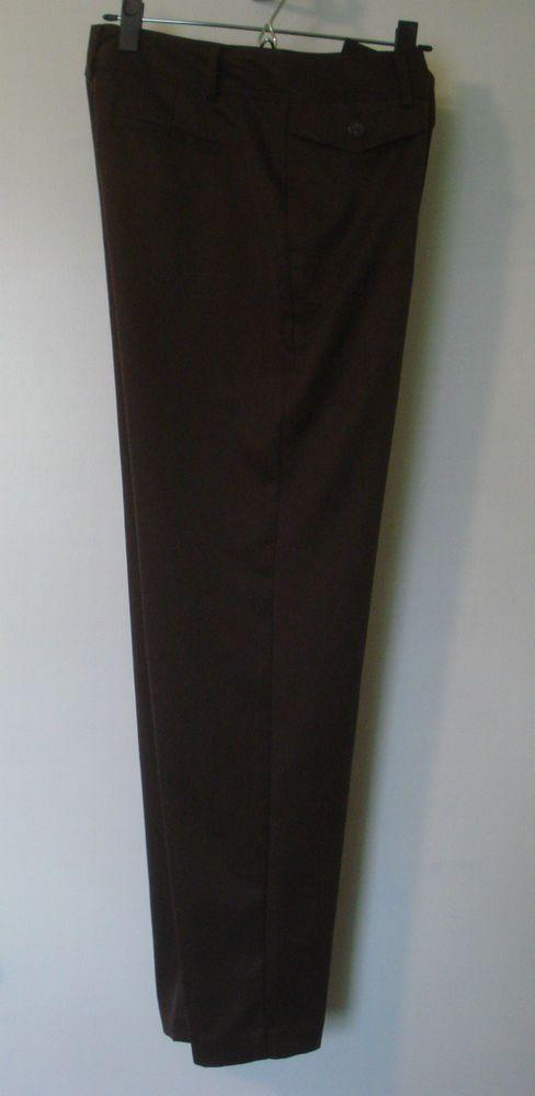 b965b9c616 IZOD womens stretch golf pants Size 8 Brown #IZOD | Sports Attire ...