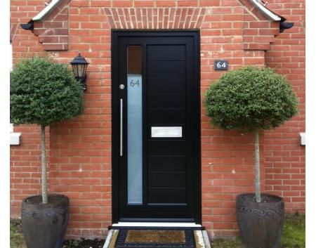No mail slot modern front door | Windows & Doors | Pinterest | Front ...