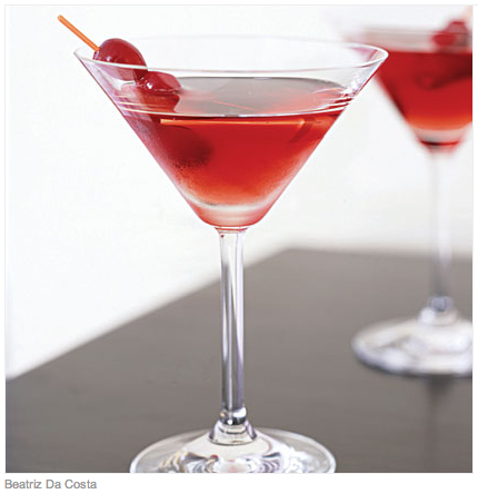 holiday fun :: retro cocktail