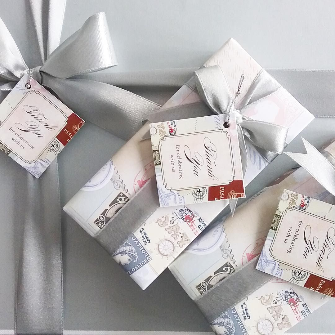 Personalized Travel-themed Wedding Favors by BC Fragrance   Scented ...