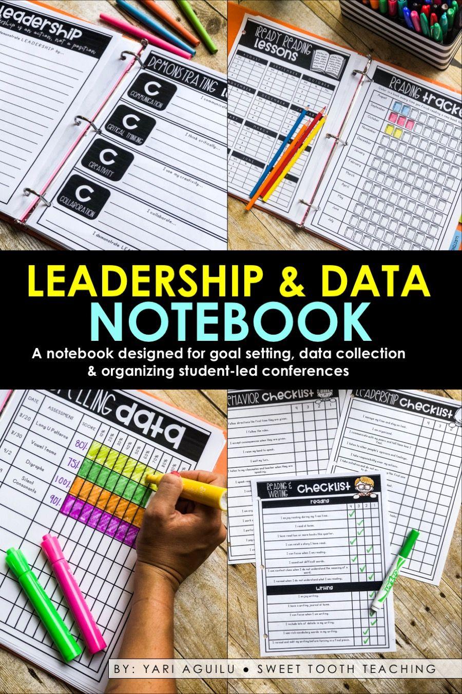 Leadership & Data Notebook | Data notebooks, Student data ...