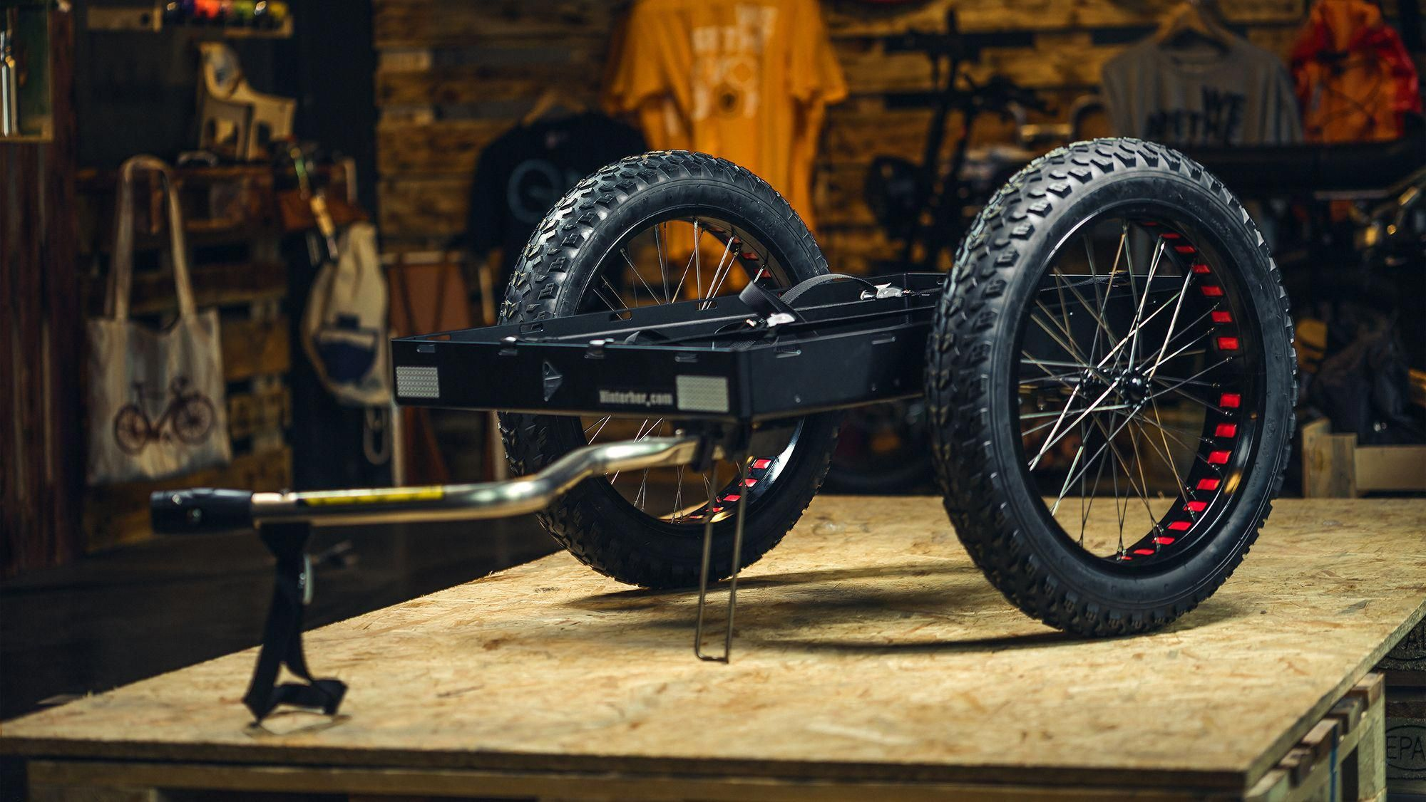 Bike Trailers Especially Made For Unimoke By Hinterher Com From