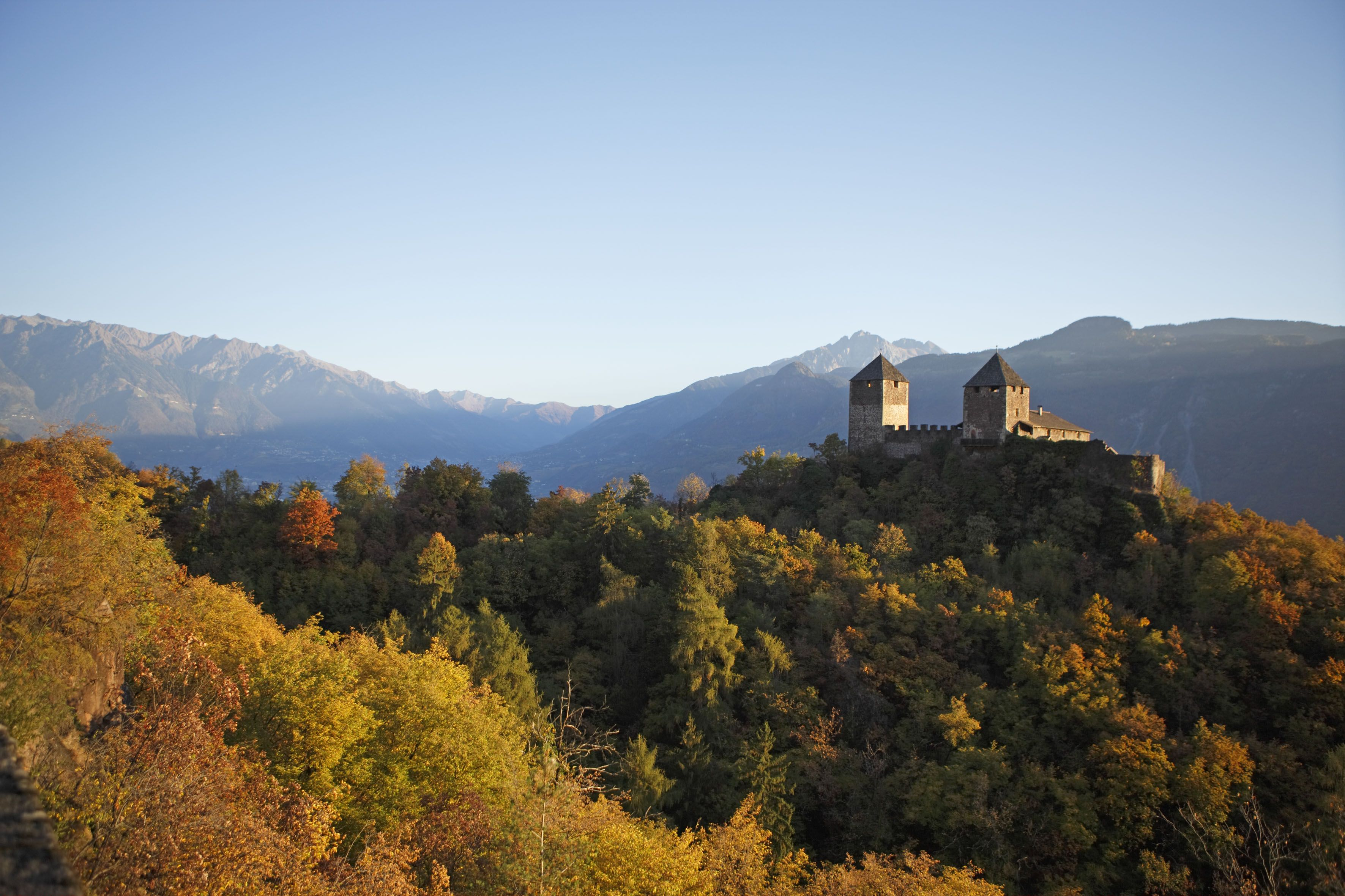 Herbst im  Meraner Land  © Frieder Blickle - Tourismusverein Lana und Umgebung