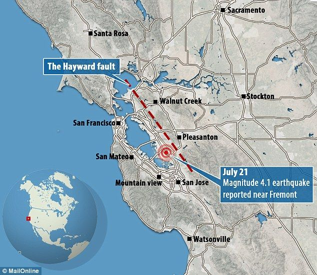 USGS Scientist: Major Quake On Hayward Fault Expected \'Any ...