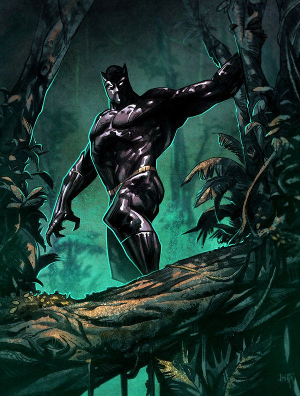 #Black #Panther #Fan #Art. (Black Panther) By: Spidermanfan2099. ÅWESOMENESS!!!™ ÅÅÅ+