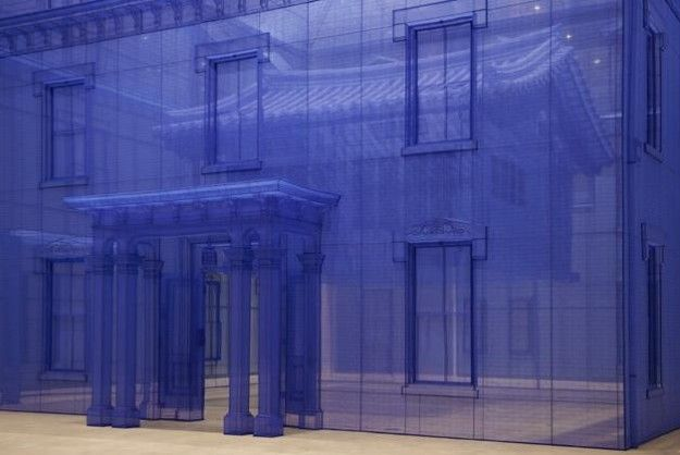Fabric Buildings Let Visitors Walk Through A 3D Blueprint Pics - new blueprint meaning meaning