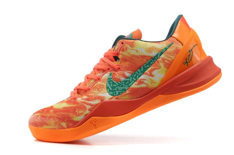 newest b63c3 b8b25 Kobe shoes 2013 Kobe 8 Bright Orange New Green,jordan shoes