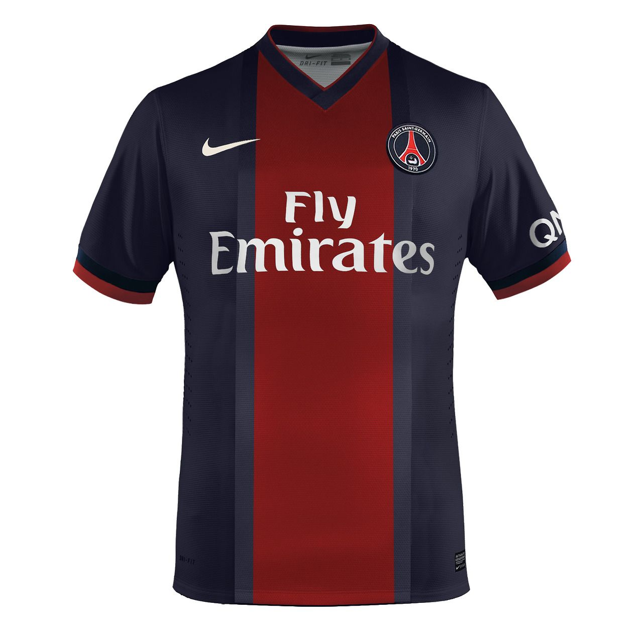 A proposal for Nike Psg first kit, inspired on the 90's the