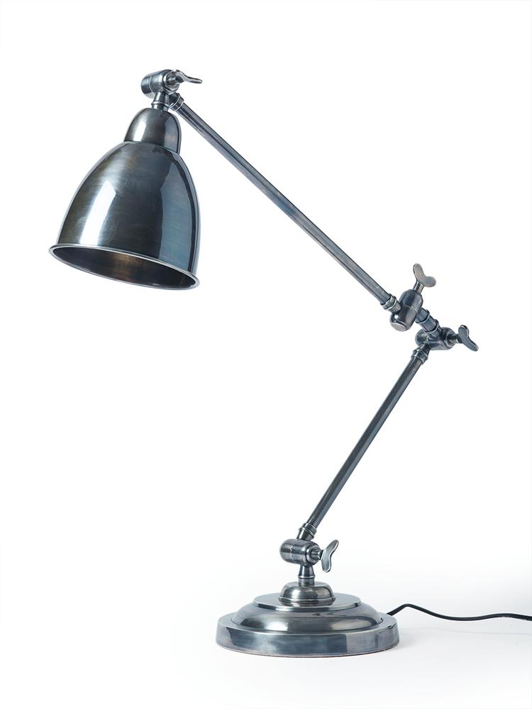 Freya Antique Silver Table Lamp | Cox U0026 Cox