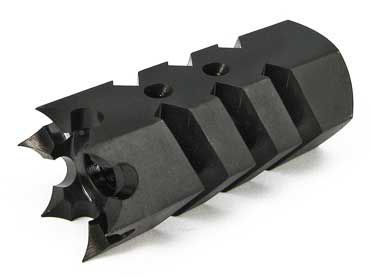 Matrix shark style muzzle brake  14 mm negative  | Custom M4 build