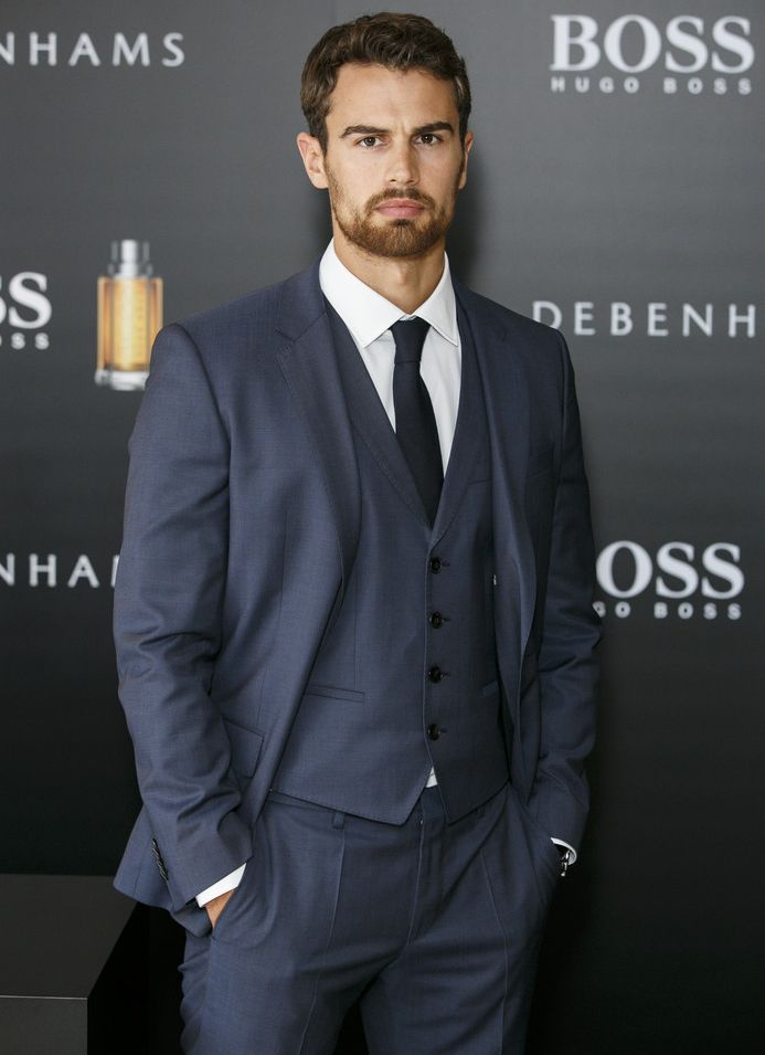 96c7020a2 Theo James for BOSS Hugo Boss Fragrance Campaign | gentlemen | Theo ...
