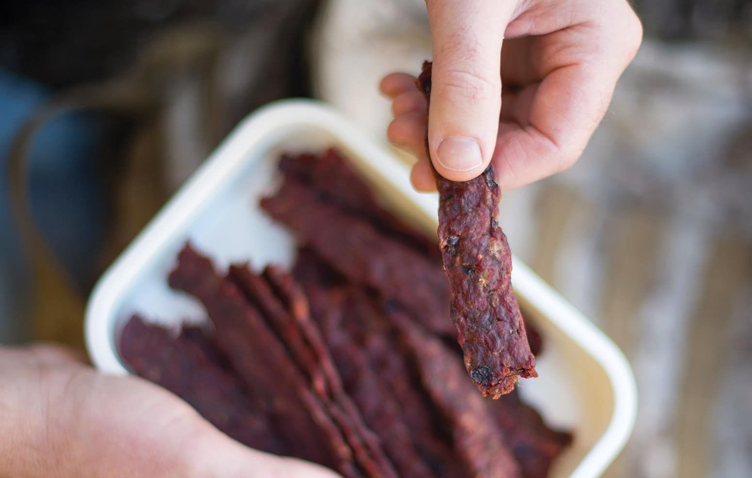 A Recipe For Ground Venison Jerky Ground Deer Jerky Is A Great Use Of Lean Ground Meat This Recipe Mimics Nati Deer Meat Recipes Venison Jerky Ground Venison