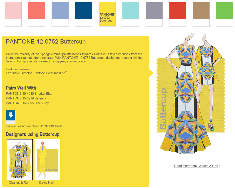 Trend Report: Sunny Yellow