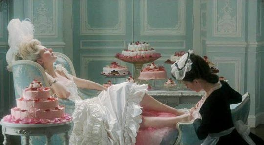 Candy Color Combinations from Marie Antoinette