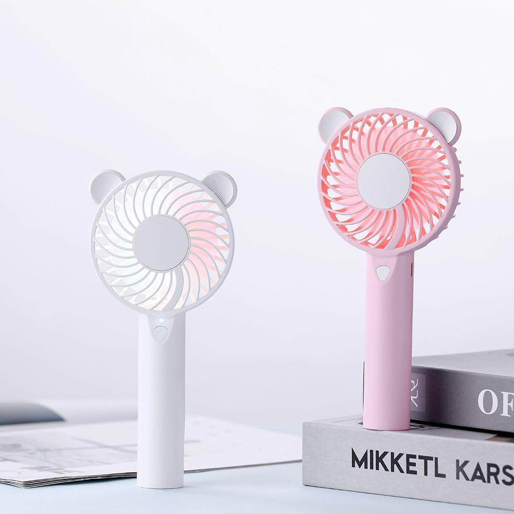 F005 low voltage rabbit cute cartoon usb quiet windmill