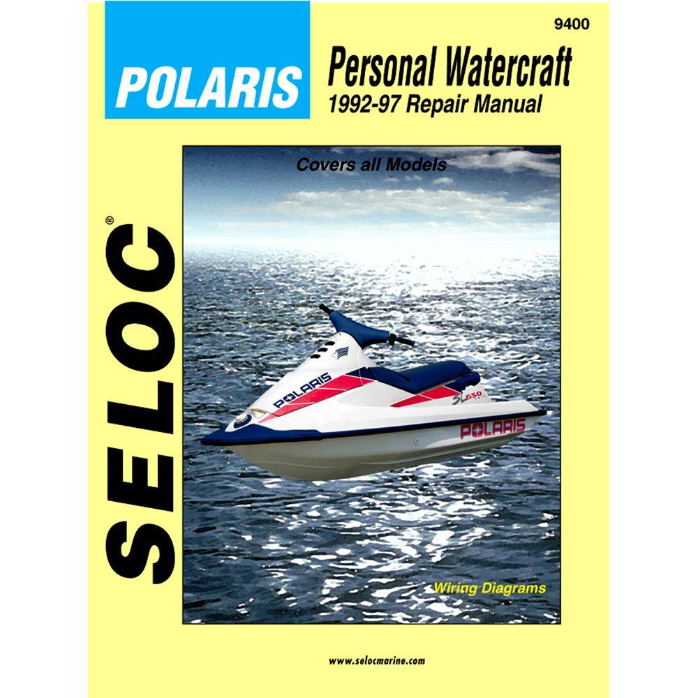 Seloc Service Manual Polaris 1992 97 Boat Parts For Less Repair Manuals Personal Watercraft Water Crafts