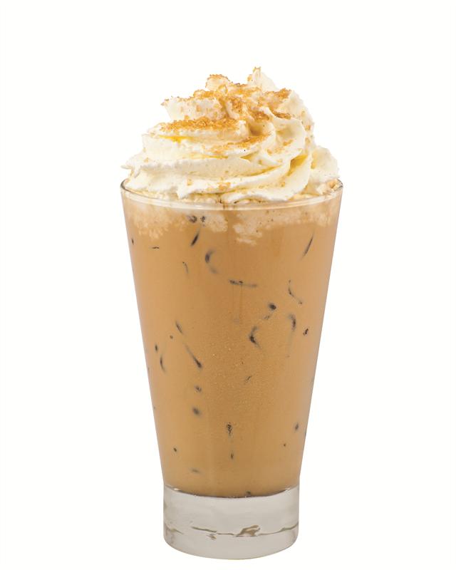 Adult Pumpkin Chai Iced Latte