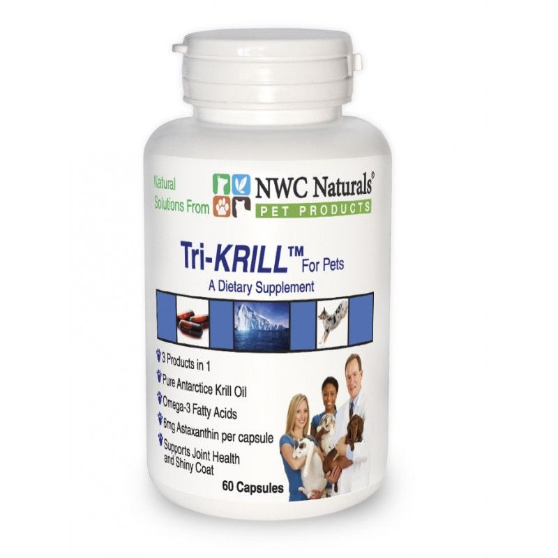 Helps Pets with Arthritis / Increases Flexibility and Mobility / Skin Health and Shiny Coat / Easy to use capsules with no fishy breath