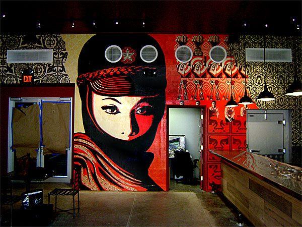 Inside the Wynwood Kitchen & Bar | Public Art | Pinterest