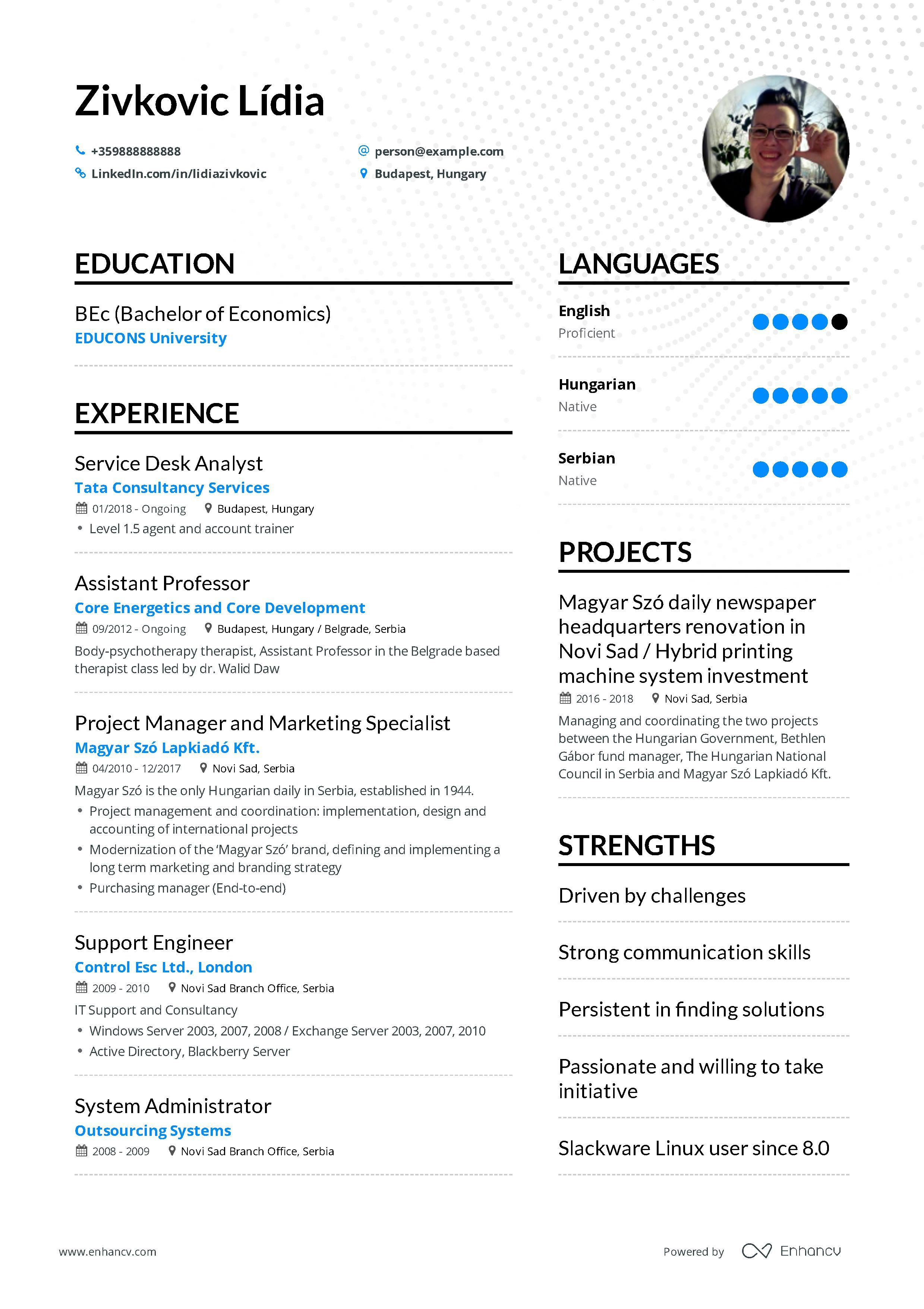It Support Resume Example And Guide For 2019 Resume Examples Free Resume Examples Professional Resume Examples