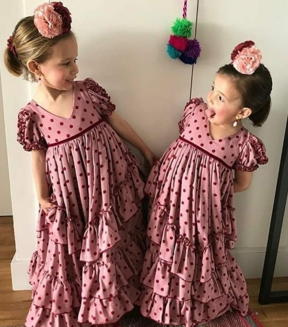 Trajes De Flamenca Niñas Traje Flamenca Niña Vestido Flamenco Niña Traje Flamenca Bebe