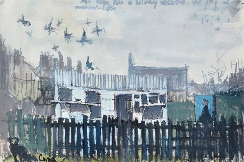 Image result for anthony gross watercolour