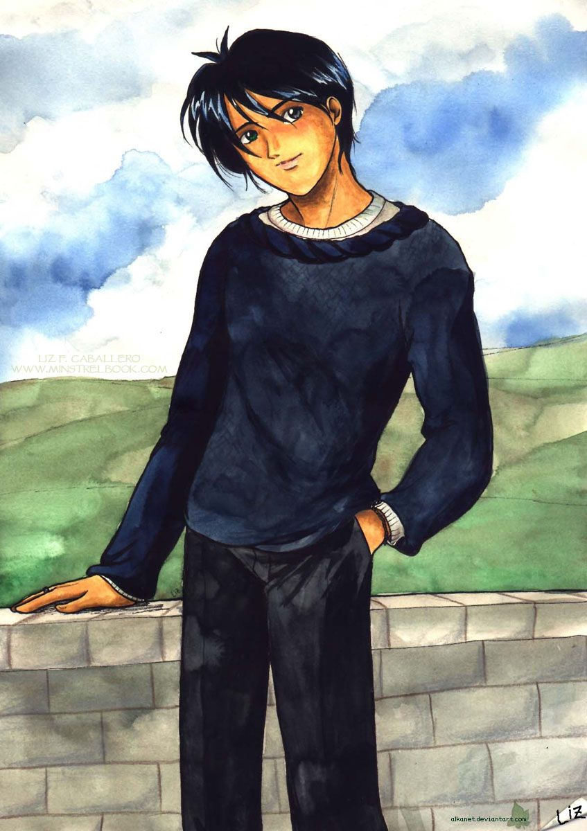 Roger Davies Captain Of The Ravenclaw Quidditch Team From Harry Potter Illustrated By Liz F Cab Harry Potter Illustrations Harry Potter Fan Art Harry Potter