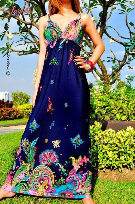 Easy breezy my fav. item this spanish hot summer the maxi dress
