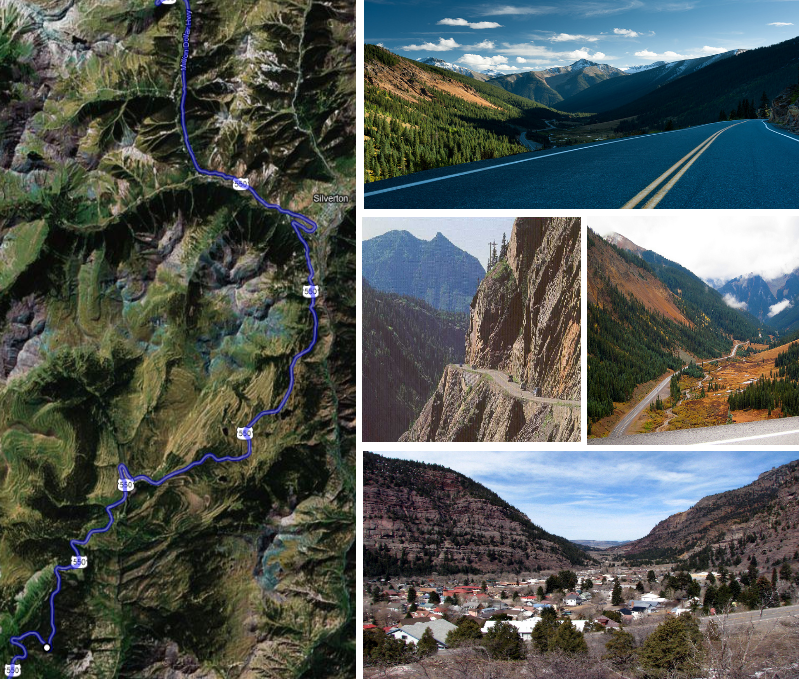 Million Dollar Highway Montrose To Durango Co 106 Miles See It On
