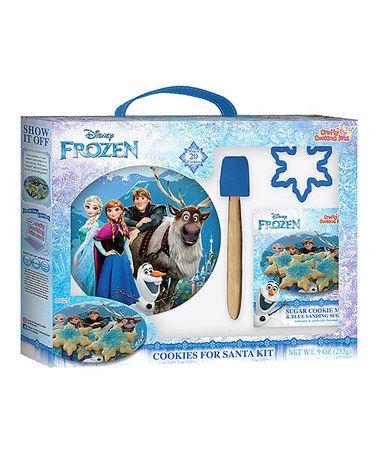 Disney Frozen Cookies for Santa Set #zulily #zulilyfinds
