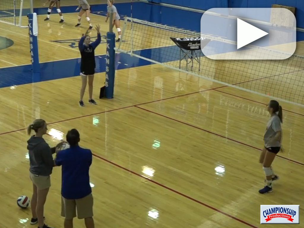Watch As Coach Ray Bechard And Setters Work This Targets Drill Coaching Volleyball Volleyball Drills Drill