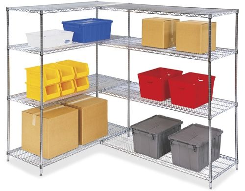 Uline Stocks A Huge Selection Of Chrome Wire Shelving And Storage Order By 6 Pm For Same Day Shipping 11 Locations Across Usa